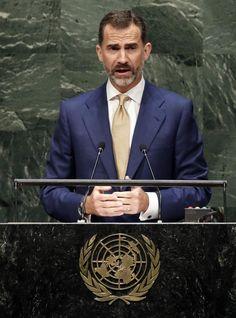 Intervención de Don Felipe en la ONU. 23/9/2014