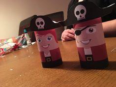 Piraten omgebouwd naar traktatie-doosjes