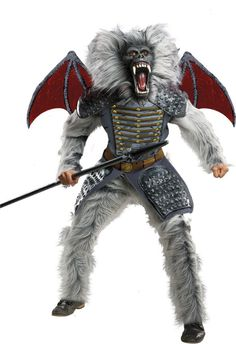 Oz The Great And Powerful Baboon #halloweenideas #moviecostumes
