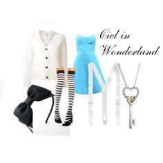"""""""Ciel in Wonderland- Ciel Phantomhive"""" by theearlmustang on Polyvore"""