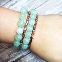 Jade Gemstone Stretch Bracelet ONE BRACELET ONLY on Etsy, $26.00