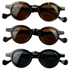 Cool Small round frame Sunglasses Glasses Goggles