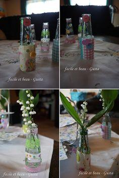 facile et beau - Gusta: Mini-Vasen