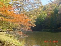 Clarion River in October