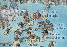 House of Black and White from the Official map of Braavos