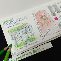 https://flic.kr/p/HgvRYC | 2016_05_13_haute couture_02_s | オートクチュール展  for this drawing I used : Faber castell polychromos MIDORI Traveler'snotebook  © Belta(Mayumi Wakabayashi)