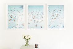 Caribbean Triptych by Gray Malin