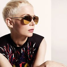 Michelle Williams // Louis Vuitton 2017 Spring Summer Sunglasses Collection