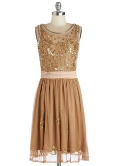I want this gorgeous copper gown! How beautiful would it be for your maids?
