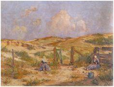 Duinen te Domburg, Emmanuel Viérin, 1917