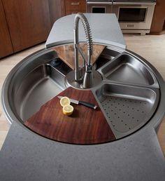 lavandino di cucina multifunzionale