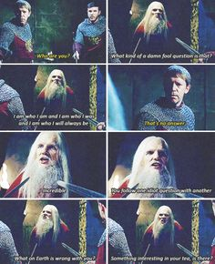 When you realise one of the guards in this Merlin scene was caught in a similar situation with Jack Sparrow