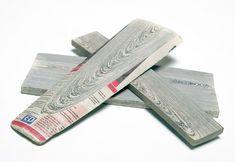 NewspaperWood, el papel que vuelve a ser madera