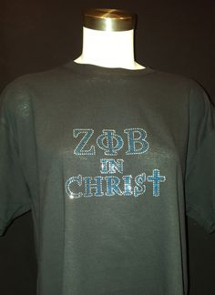 Zeta Phi Beta In Christ T shirt by LineupBoutique on Etsy