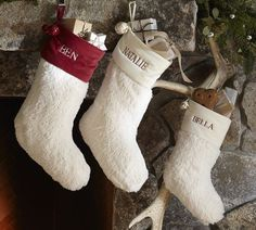 Faux Sheepskin Stocking... love the look, wondering if they'd get too dirty?