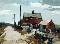 Donald McIntyre 'Road and Farm'