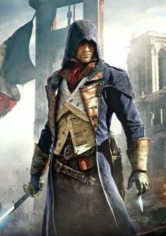 Get off on this stylish and fashionable cloak from the Assassin's Creed Unity. Avail it now from our Get off on this stylish and fashionable cloak from the Assassin's Creed Unity. Avail it now from our store in discounted price. Assasin Creed Unity, Assassins Creed Series, All Assassins, Arno Dorian, Deutsche Girls, Erza Et Jellal, Assasins Cred, Assassin's Creed Wallpaper, Hd Wallpaper