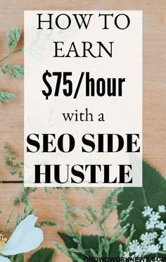 Here is another profitable side hustle if you are good around the web. You do not need any special expertise to become a SEO consultant but should learn or get trained in the techniques.Click through to find out more about this hustle.#sidehustle #makemoneyonline