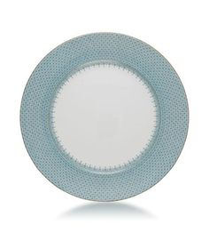Mottahedeh - Service Plates Turquoise Lace Service Plate