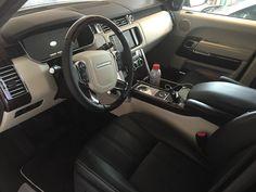 Interior my range rover