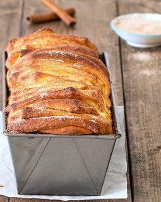 Cinnamon Sugar Pull-Apart Bread. Just add coffee and this makes for a perfect morning. :)
