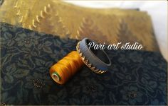 In this page i m sharing different stuffs like glass painting,fabric work, rakhi making, flowers. Rakhi Making, Silk Thread, Art Studios, Fabric, Handmade, Painting, Tejido, Tela, Hand Made