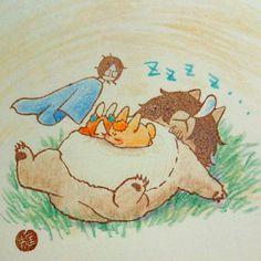 Bleach// Orihime, ichigo,Chad bunny and Ishida