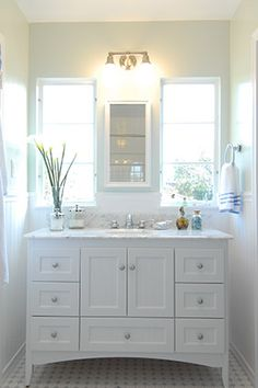 "Bathroom Makeover Galway fairmont designs 142-v48 rustic chic 48"" bathroom vanity 