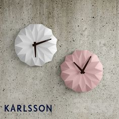 Clock Karlsson Origami