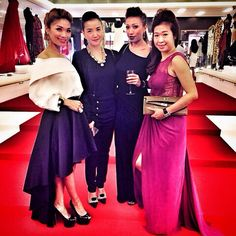 Beautiful babes of the night I am in my Choo Choo  skirt by @mbymischa @saktiaja #mbymischa #gorgeous #gowns #babes #redcarpet #affluentprivateevent #affluentmedia #privateparty #exclusiveevent #amazing #byinviteonly #instafab #fabulous #lovely #nice #instafun #instapic #instapix #Padgram