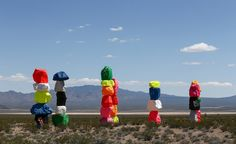 The Art Production Fund and Nevada Museum of Art are currently presenting their latest venture, 'Seven Magic Mountains', by Swiss-born artist Ugo Rondinone. The large-scale desert installation has been constructed and installed near Las Vegas and consi...