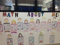 First Grade Smiles: Math About Me