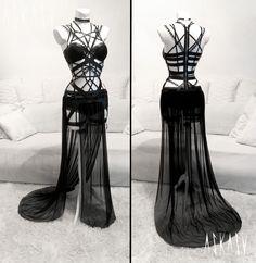 Leather strips lingerie by Askasu #sexy #lingerie #gothic #leather #lace #stripes #intricate #black #delicate #alternative #harness #stripes #mesh #dress #glamour #hautecouture #fashion #design #occult #metal #tailor #darkfashion #nugoth #dark #navel #urbangoth #askasu