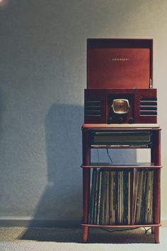 Record player and stand