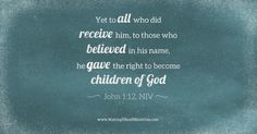 I AM a Son of God because @KingLivesInMe Col 1:27