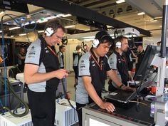"""Force India Engineers:""""Check Cheeco's data. He must have short-cutted somewhere to qualify 2nd!"""""""