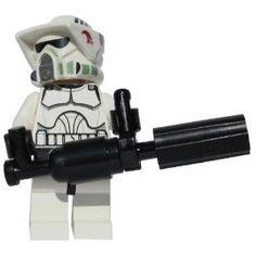 ARF Trooper (with Chaingun) - LEGO Star Wars Clone Wars Minifigure Clone Trooper with Rotary LEGO Chaingun $7.64