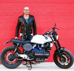 K75 Bike Bmw, Cafe Bike, Bmw Cafe Racer, Custom Street Bikes, Custom Bikes, Cbx 250, K100 Bmw, Bmw Motorbikes, Custom Bmw