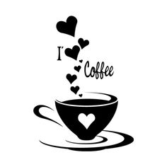 I Coffee. Would look cute above my coffee bar. Coffee Talk, I Love Coffee, Coffee Break, My Coffee, Morning Coffee, Coffee Shop, Coffee Cups, Coffee Lovers, Coffee Maker