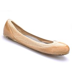 Shimmering Gold Flats-- Bought these!