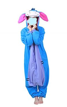 BRL MALL AdultSized Costumes Lovely Little Donkey Cosplay Onesies Pajamas S Donkey