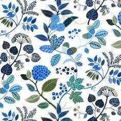 Kinnamark Ingaro Swedish Fabric -HUS & HEM- Scandinavian Design For The House And Home