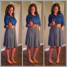 Lularoe pleated skirt with pockets!! #lularoe #fashion #comfortable #cute #fun #whimsy #spring #summer #skirt