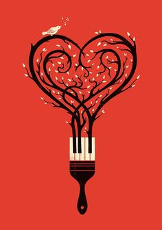 """""""Paint your love song"""" by buko 