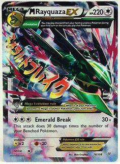 Pokemon Cards LOT Mint Secret & Ultra Rare - Shaymin EX 77/108 VS Seeker 110/108