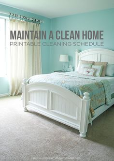Ever since I had my third baby, my house has been a disaster.thinking I need to take my own advice with this Printable Cleaning Schedule ASAP! Do you have a cleaning schedule? What cleaning tips do you have to maintain a clean home?