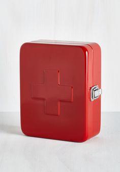 Calling For A Medic First Aid Box | Mod Retro Vintage Bath | ModCloth.com