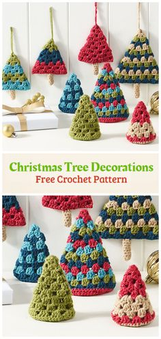 Crochet Retro Christmas Trees - Crochet Kingdom