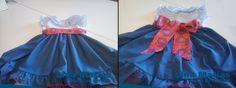 Mais um vestido de criança feito pela aluna Frederica Almeida.