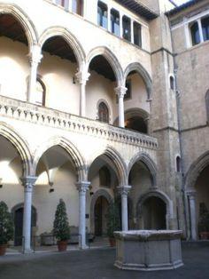 Tarquinia, Palazzo Vitelleschi, sede del Museo Archeologico Nazionale